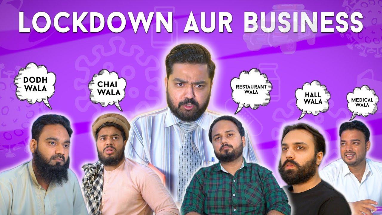 Lockdown Aur Business   Funny Sketch