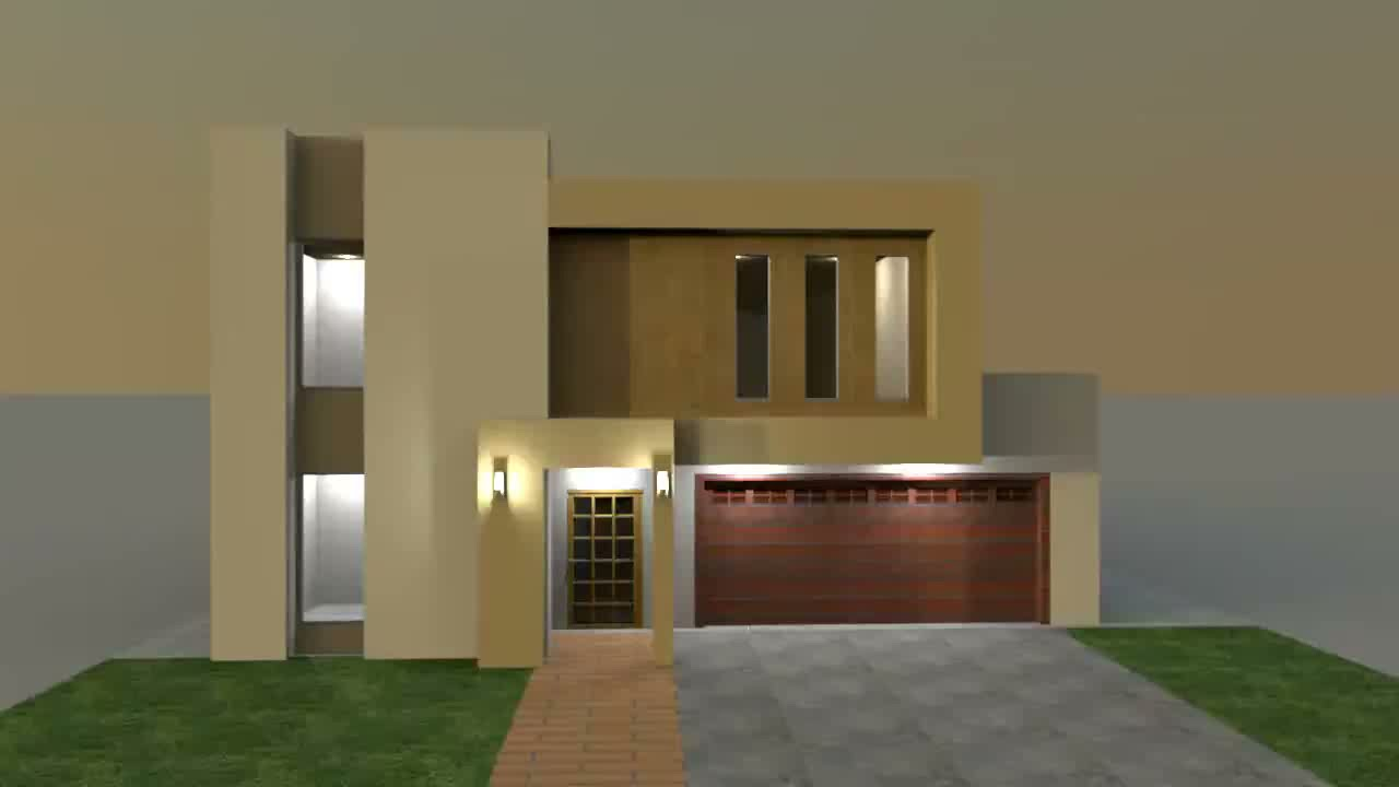 Build modern villa in sweet home 3d youtube for Sweet home 3d arredamento