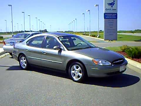 2002 ford taurus ses - youtube