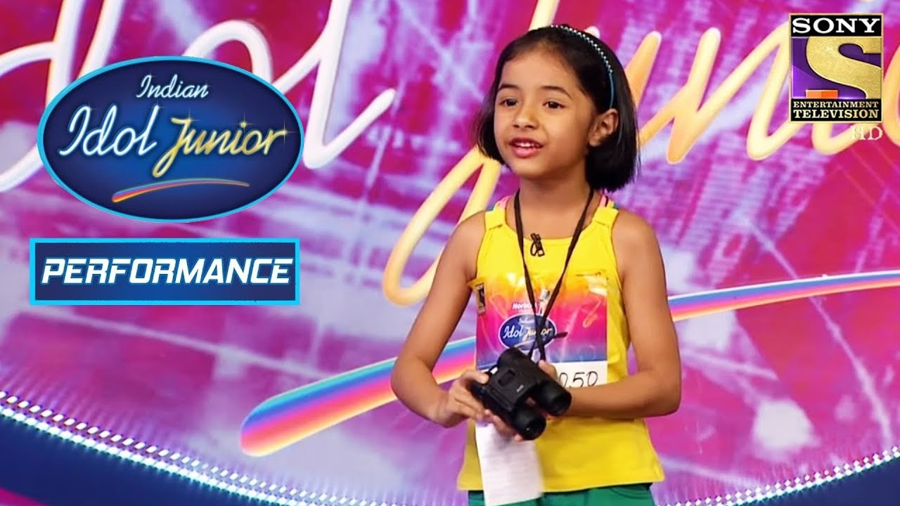 Swara's Soothing Voice Wins The Judges' Hearts! | Indian Idol Junior 2
