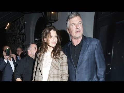 Alec Baldwin And Wife Hilaria Thomas Put On A Show For The Cameras