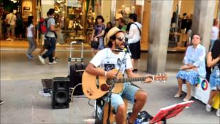HURRICANE - Edwin One Man Band - Folk N' Roll Tour 2014 - Milano