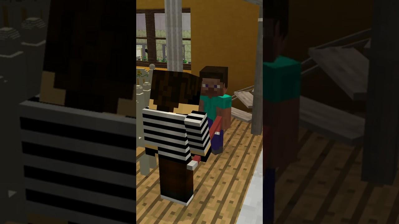 JUNGS vs MÄDCHEN - AUF EINBRECHER REAGIEREN | Minecraft #