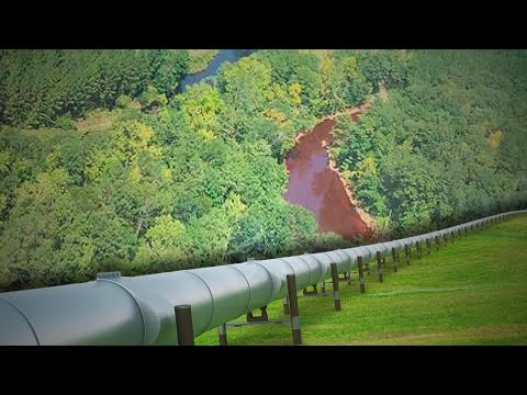 Alabama Gasoline Leak Shows That Pipelines Can Never Be Trusted - The Ring Of Fire
