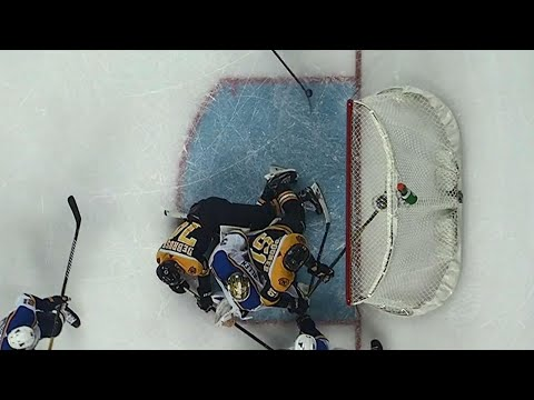 Everyone just remember this call where Boston basically escorts goaltender out of the net and it still counted