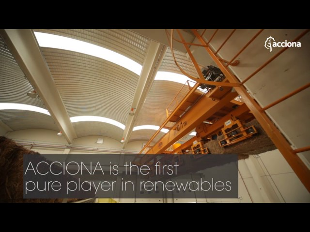 ACCIONA again the greenest electric utility in the world