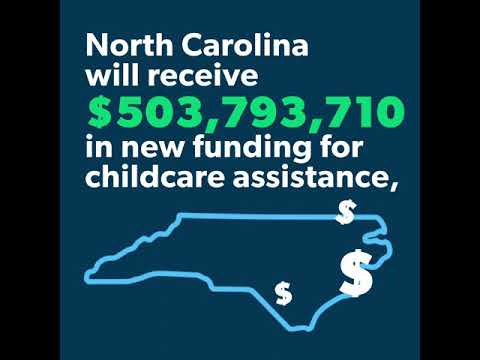 American Rescue Plan - Childcare for North Carolinians