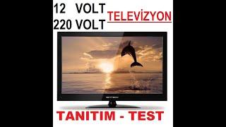12 volt televizyon SKYTECH ST 2430 TELEVİZYON İZLEÇ KULLANIMI, 12V 220V TELEVİZYON