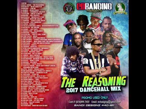 CD BANGING REASONING  DANCEHALL 2017 MAY ALKALINE,MAVADO VYBZ KARTEL,POPCAAN