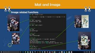 OpenCV Lecture - 2. AboutMat (1/9) : image, video load and show