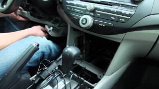 Honda Accord 2008-2012 Bluetooth Extension installation by GTA Car Kits