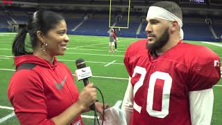 2019 San Antonio Commanders Training Camp | Kenneth Farrow II (RB)