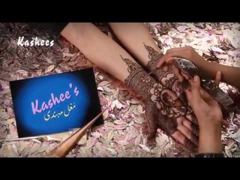 Beautiful Mughal Art Mehndi By Kashee's Beauty Parlour