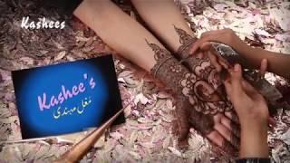 Beautiful Mughal Art Mehndi By Kashee's Beauty Parlour
