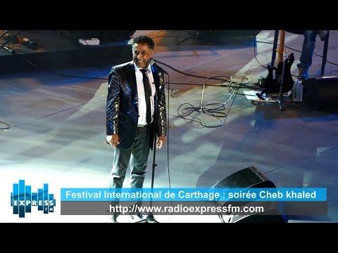 Festival International de Carthage : soirée Cheb khaled