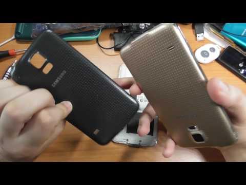 Galaxy S5 Vrai et Faux - Démontage et Comparaison - Contrefaçon