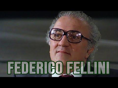 FEDERICO FELLINI intervistato da Enzo Biagi