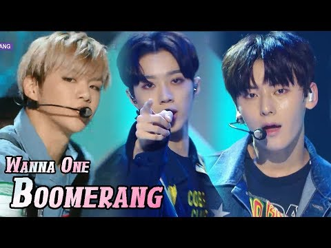 [HOT] WANNA ONE - BOOMERANG, 워너원 - 부메랑 Show Music core 20180407