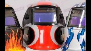 Маска сварщика Хамелеон - Aurora SUN7 c увеличенным светофильтром.(Данный щиток, является аналогом маски всемирно известной компании Jackson, как по дизайну, так и по устройству..., 2013-07-30T15:22:36.000Z)