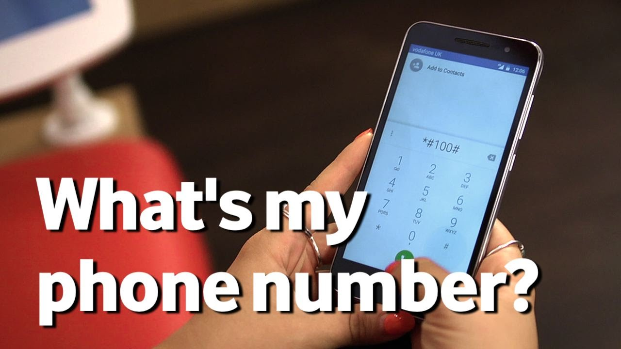 What's my mobile number?