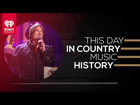 When Keith Urban Made Country Music History | This Day In Country Music History