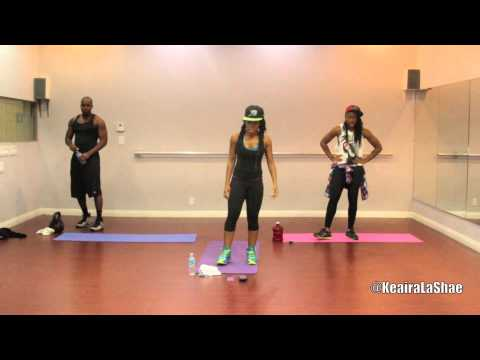 10 min workout from HELL to make your body look like HEAVEN! (@KeairaLaShae)