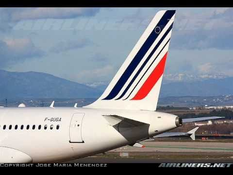 Tribute to Air France in fleet and cabin pictures