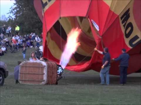 2015 Northampton Balloon Festival and Night Glow.