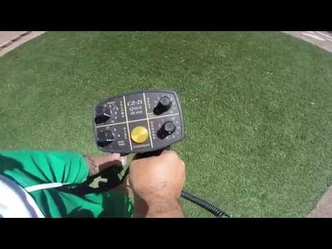 How To Set Up And Ground Balance The Fisher CZ21 Metal Detector