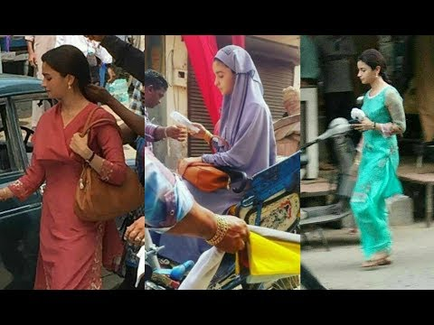 Raazi Movie 2017 - Alia Bhatt Behind The...