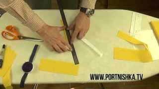 ✂️👍Как сделать обтачную петлю для пуговицы  Часть 1