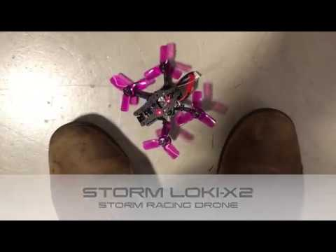 Loki-X2 Storm Racing Drone Indoor Flight - HeliPal.com