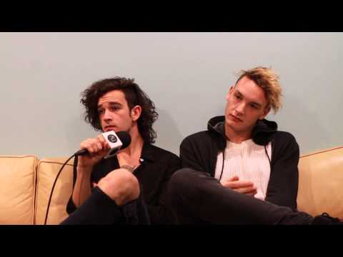 The 1975: Matty Healy and George Daniel Interview on Touring, Bastille and Australia! (Part One)