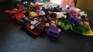 Lego DC superheroes minifigure collection