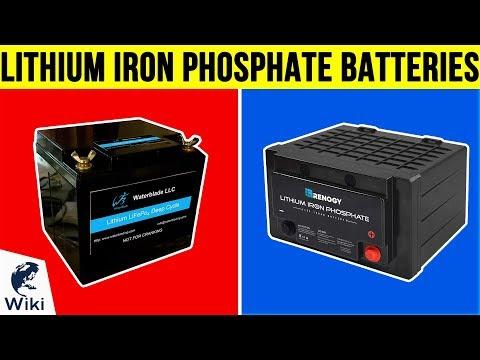 10 Best Lithium Iron Phosphate Batteries 2019
