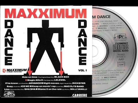 MAXXIMUM DANCE VOLUME 1 - 1989 - Compil radio Maxximum