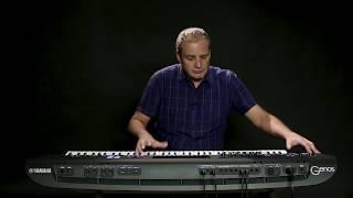 Yamaha Genos Arranger Workstation Keyboard
