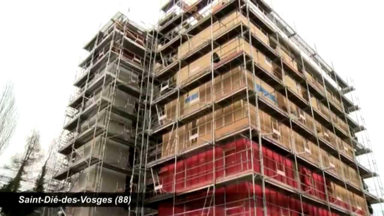Maison Ossature Bois Vosges la construction bois/paille prend de la hauteur