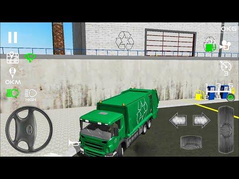 Tài xế ô tô chở rác cty môi trường #2 | Trash Truck Simulator |Trò chơi ANDROID & IOS