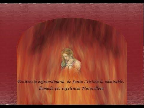 """Maravillosa Santa Cristina la Admirable"". Padre Jesuita  Martín de Roa"