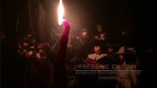 Frédéric Chopin - Nocturnes (Brigitte Engerer) Candle Burning - Rembrandt