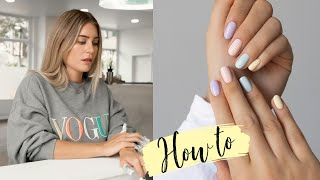 How To: UV-Nagellack Maniküre zuhause machen! Tipps & Tricks! | MRS. BELLA