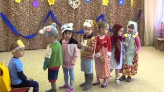 Сказка про репку д/сад 2642