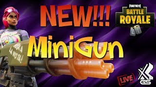 Fortnite xGs Giveaway DUOS / SOLO LET'S GET IT! Minigun!