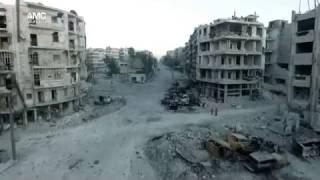 شاهد.. الدمار الذي خلفته هجمات نظام الأسد على حي الشعار
