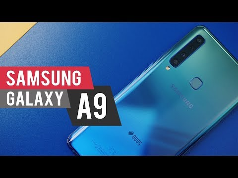 Samsung Galaxy A9 - koliko mogu 4 kamere?