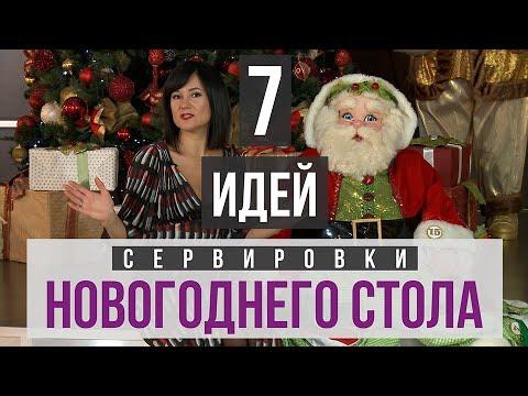 7 идей сервировки новогоднего стола