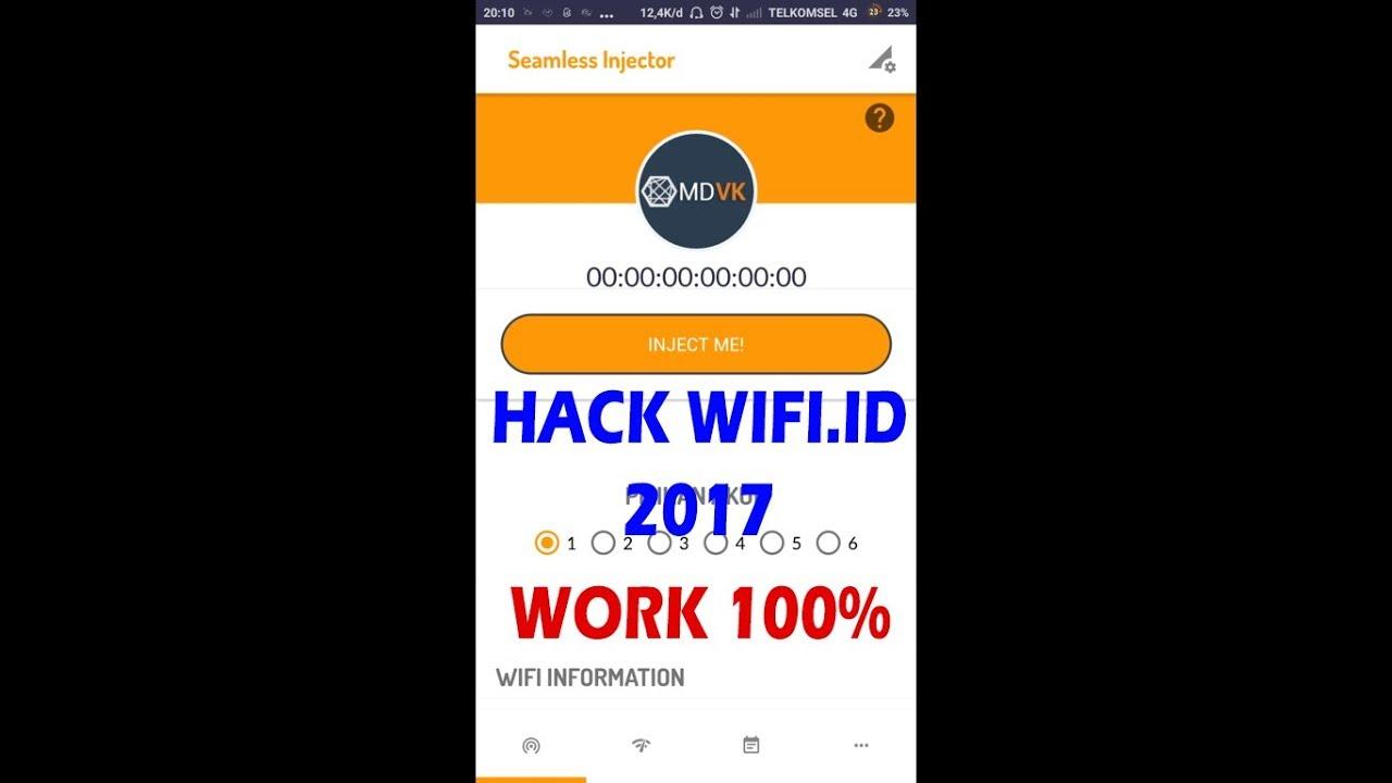 Tutorial Hack Bobol Wifi id/Wifi id di Android hanya 1 menit terbaru 2017