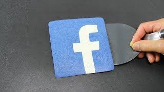 Pancake Art - Facebook Logo (Social Media) by Tiger Tomato