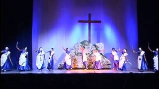 Tamil Christian Dance by Tamil Catholic Chaplaincy in  2003   part 4 of 5